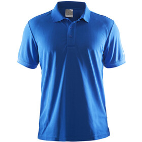 Craft Classic Polo Pique Maglietta Uomo, sweden blue